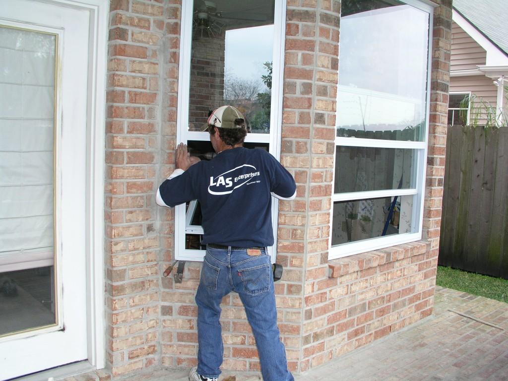 LAS Window Installation