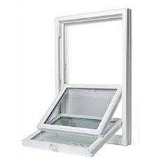LAS Double Hung Windows Interior Sash Both Clean