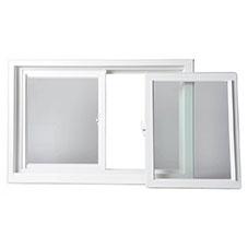 LAS Windows Slider Style Double Sash Interior