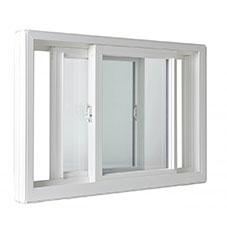 LAS Windows Slider Style Interior Slider Triple Clean