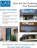 LAS Business Protecting Protect Shutters