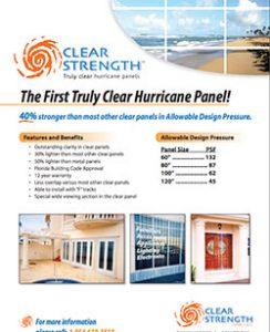 LAS Clear Strength Brochure Hurricane Panel