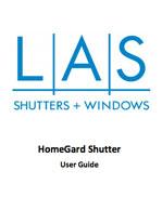 LAS Homegard Shutter User Guide