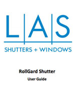 LAS Rollgard Shutter User Guide